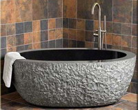granite bath tub