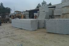Hazel white granite quarry