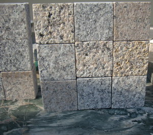 granite mosaic wall