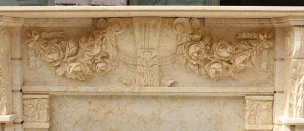carved marble wall decoration panels
