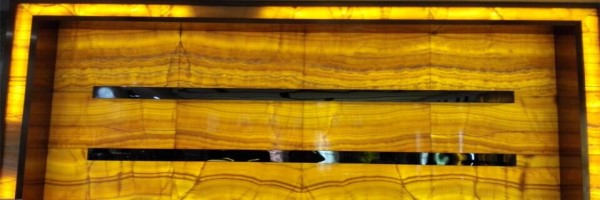 translucent onyx wall