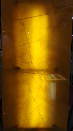 translucent yellow onyx tiles