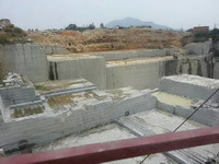 white granite quarry